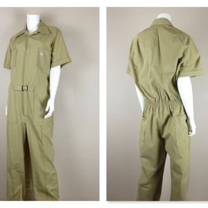 Vintage 60s 70s Jumpsuit / Coveralls / Leisure